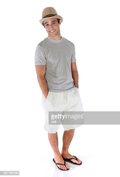 Hombre Casual pie