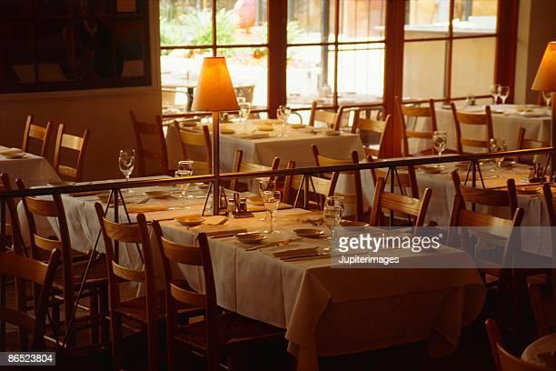 Casual restaurant dining room