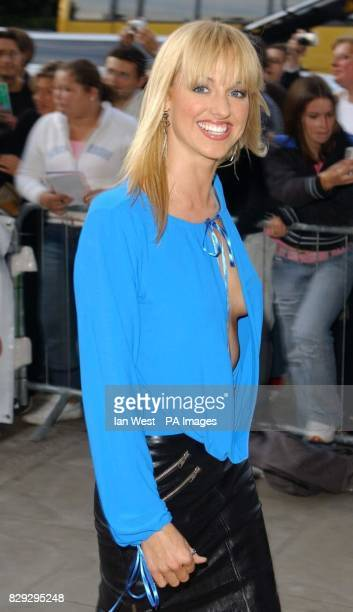Casualty actress Sarah Manners arrives for the Disney Channel Kids Awards 2004 held at the Royal Albert Hall central London