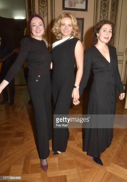 "Casuccini Bonci, Katia Solotsinskaya and Sona Chakarian attend the Cocktail ""Karine Ohana And Co"" Hosted by Katia Solotsinskaya, Karine Ohana and..."
