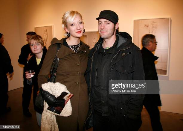 Cat and Duck attends ERWIN OLAF Opening Reception at Hasted Hunt Kraeutler on January 28 2010 in New York