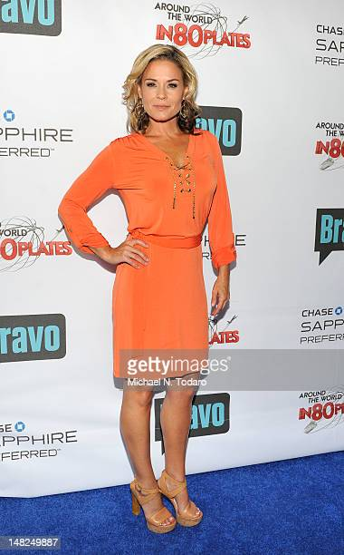 Cat Cora attends Bravo's Around The World In 80 Plates Finale Celebration at Metropolitan Pavilion on July 12 2012 in New York City