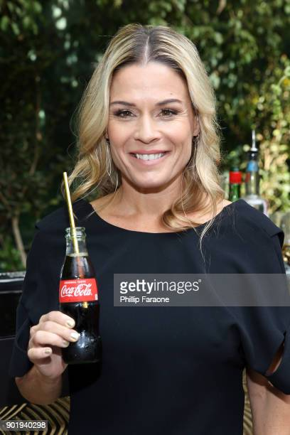 Cat Cora attends GOLD MEETS GOLDEN The 5th Anniversary Refreshed by CocaCola Globes Weekend Gets Sporty with Nicole Kidman and Athletic Royalty on...