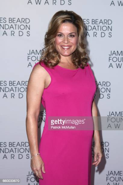 Cat Cora attends The 2009 JAMES BEARD FOUNDATION AWARDS at Avery Fisher Hall at Lincoln Center on May 4 2009 in New York City