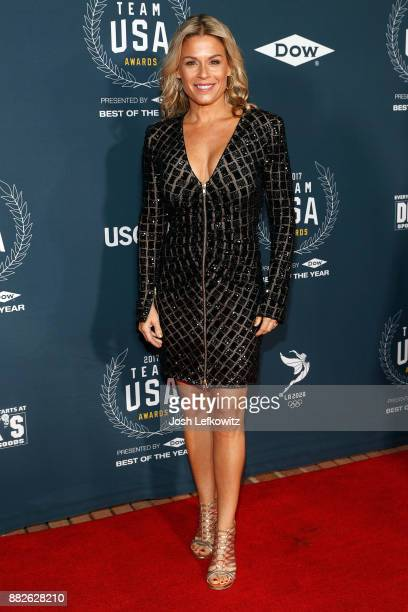 Cat Cora attends the 2017 Team USA Awards on November 29 2017 in Westwood California