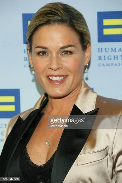 Cat Cora attends the Human Rights Campaign Los Angeles Gala dinner at JW Marriott Los Angeles at LA LIVE on March 22 2014 in Los Angeles California