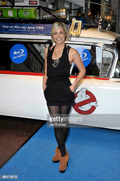 Cat Cubie attends the VIP screening of Ghostbusters at Soho Hotel on June 10, 2009 in London, England.