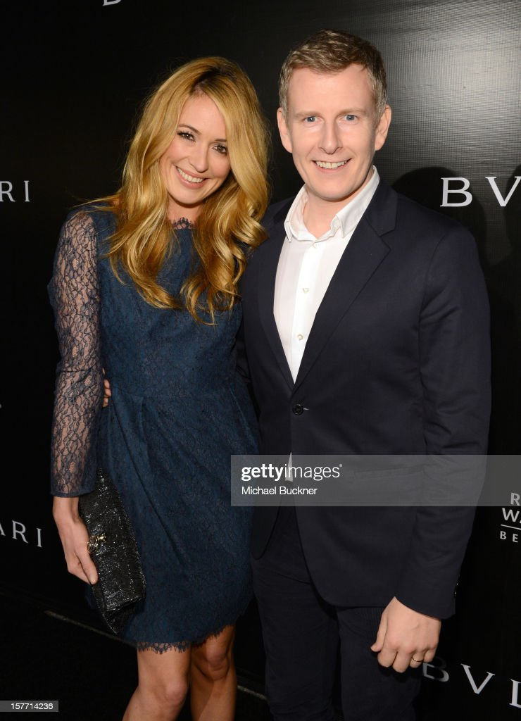 Cat Deeley (L) and Patrick Kielty attends the Rodeo Drive Walk Of Style honoring BVLGARI and Mr. Nicola Bulgari held at Bulgari on December 5, 2012 in Beverly Hills, California.