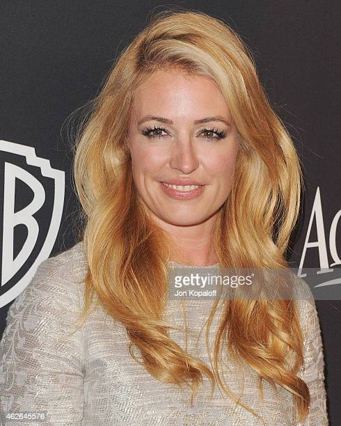 Cat Deeley arrives at the 16th Annual Warner Bros And InStyle PostGolden Globe Party at The Beverly Hilton Hotel on January 11 2015 in Beverly Hills...