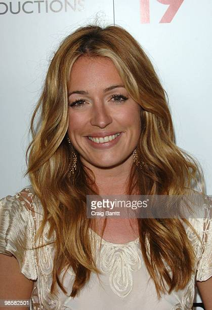 Cat Deeley arrives at the 2010 Champagne Launch Of BritWeek at the Consul General's Residence on April 20 2010 in Los Angeles California