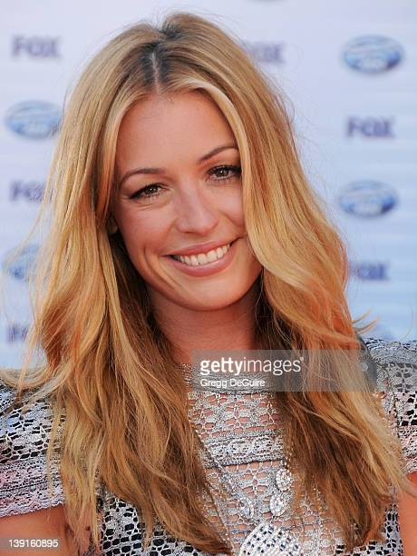 Cat Deeley arrives at the American Idol Grand Finale 2010 at the Nokia Theatre on May 26 2010 in Los Angeles California