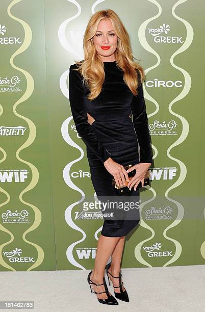 Cat Deeley arrives at the Variety And Women In Film Pre-Emmy Party at Scarpetta on September 20, 2013 in Beverly Hills, California.