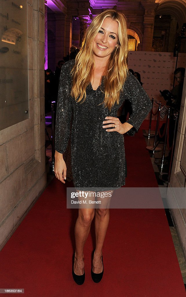 Cat Deeley arrives at The WGSN Global Fashion Awards at the Victoria & Albert Museum on October 30, 2013 in London, England.