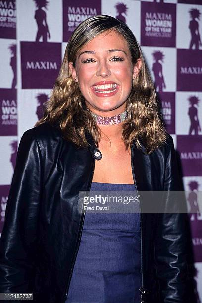 Cat Deeley at the Maxim Women of the Year Awards 2000