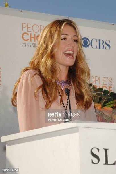 Cat Deeley attends 2010 People's Choice Nominations Announcement Press Conference at SLS Hotel on November 10 2009 in Beverly Hills CA
