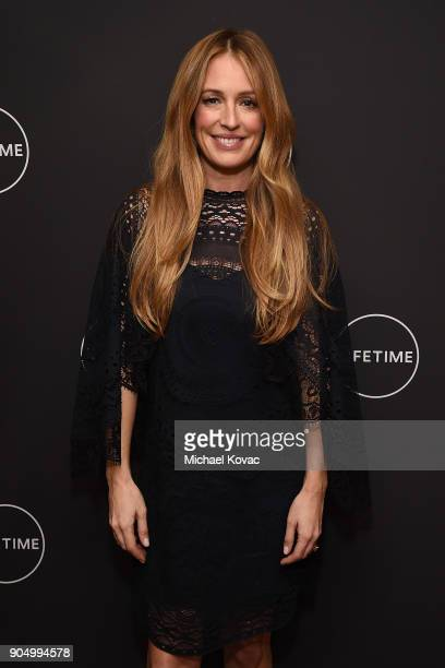 Cat Deeley attends AE Networks' 2018 Winter Television Critics Association Press Tour at The Langham Huntington Hotel on January 14 2018 in Pasadena...