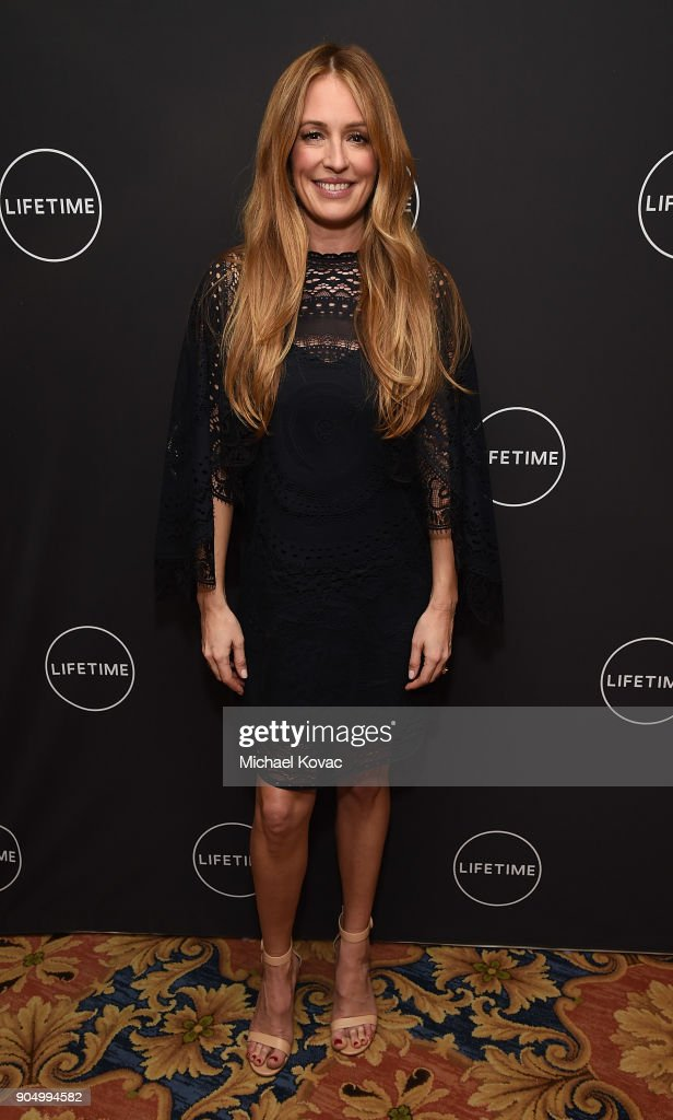 Cat Deeley attends A+E Networks' 2018 Winter Television Critics Association Press Tour at The Langham Huntington Hotel on January 14, 2018 in Pasadena, California