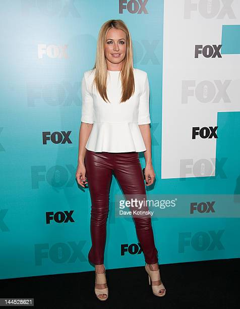 Cat Deeley attends attends the Fox 2012 Programming Presentation PostShow Party at Wollman Rink Central Park on May 14 2012 in New York City