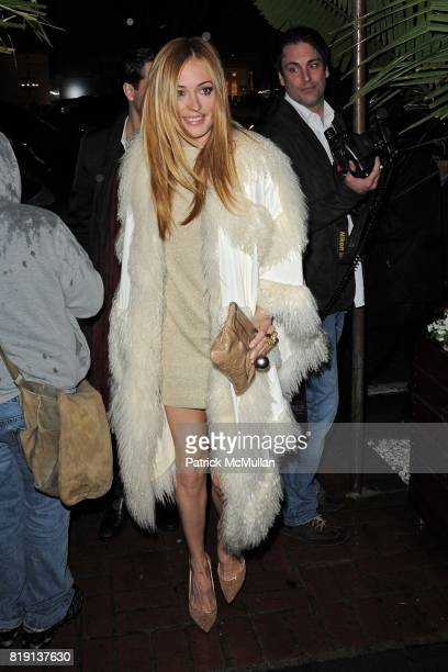 Cat Deeley attends CHANEL and CHARLES FINCH Host a PreOscar Dinner Celebrating Film And Fashion at Madeo's on March 6 2010 in Los Angeles California