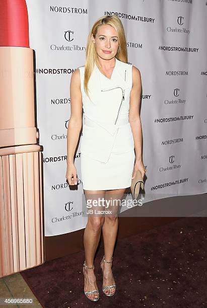 Cat Deeley attends 'Charlotte Tilbury arrives in America VIP Beauty Launch Event' presented by Nordstrom at The Grove on October 9 2014 in Los...