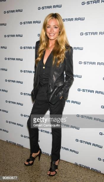 Cat Deeley attends GStar Spring 2010 during MercedesBenz Fashion Week at the Hammerstein Ballroom on September 15 2009 in New York City