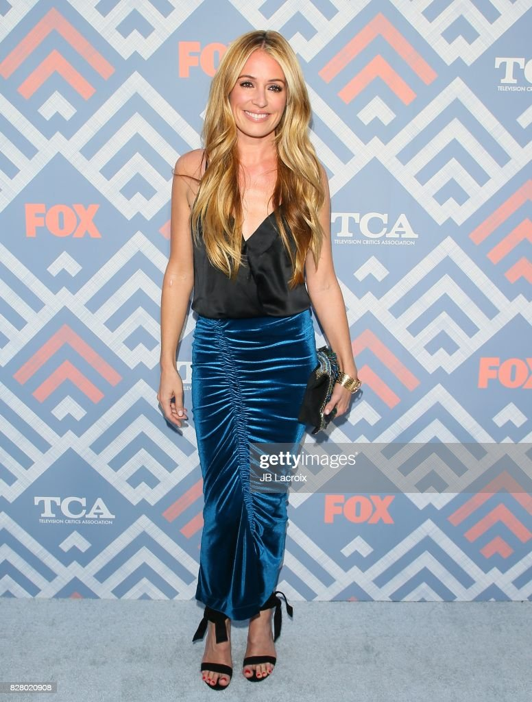 Cat Deeley attends the 2017 Summer TCA Tour 'Fox' on August 08, 2017 in Los Angeles, California.