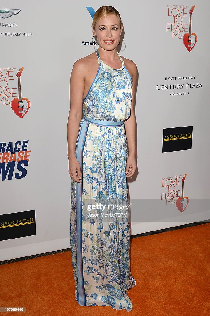 Cat Deeley attends the 20th Annual Race To Erase MS Gala 'Love To Erase MS' at the Hyatt Regency Century Plaza on May 3, 2013 in Century City, California.