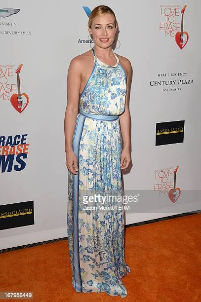 Cat Deeley attends the 20th Annual Race To Erase MS Gala Love To Erase MS at the Hyatt Regency Century Plaza on May 3 2013 in Century City California