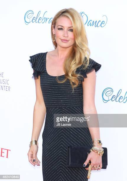 Cat Deeley attends the 4th Annual Celebration Of Dance Gala Presented By The Dizzy Feet Foundation at Dorothy Chandler Pavilion on July 19 2014 in...