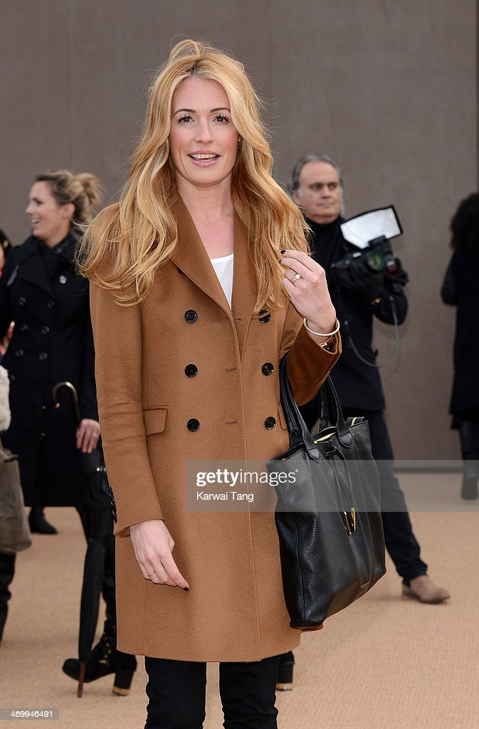 Burberry Prorsum: Red Carpet Arrivals - London Fashion Week AW14
