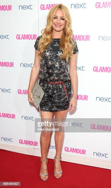 Cat Deeley attends the Glamour Women of the Year Awards at Berkeley Square Gardens on June 3 2014 in London England
