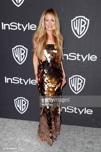 Cat Deeley attends the InStyle And Warner Bros Golden Globes After Party 2019 at The Beverly Hilton Hotel on January 6 2019 in Beverly Hills...