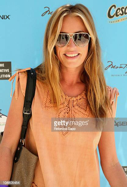 Cat Deeley attends the Kari Feinstein MTV Movie Awards Style Lounge held at Montage Beverly Hills on June 4 2010 in Beverly Hills California