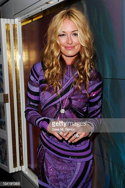 Cat Deeley attends the launch of the Links Of London AW10 at The Club at The Ivy on September 16 2010 in London England