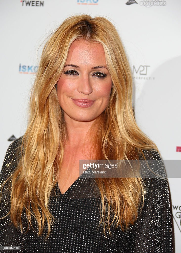 Cat Deeley attends the WGSN Global Fahsion awards at Victoria & Albert Museum on October 30, 2013 in London, England.
