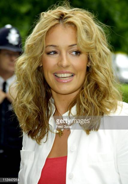 Cat Deeley during 2003 Ivor Novello Awards May 22 2003 at Grosvenor House Hotel in London United Kingdom