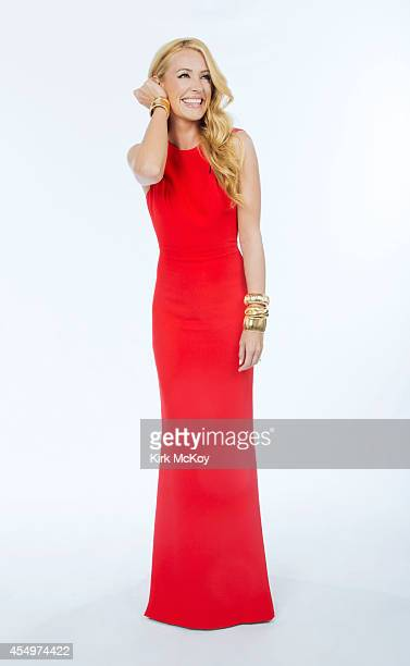 Cat Deeley is photographed for Los Angeles Times on August 25 2014 in Los Angeles California PUBLISHED IMAGE CREDIT MUST BE Kirk McKoy/Los Angeles...