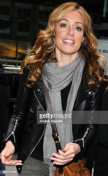 Cat Deeley is seen on the street on March 31 2010 in New York City