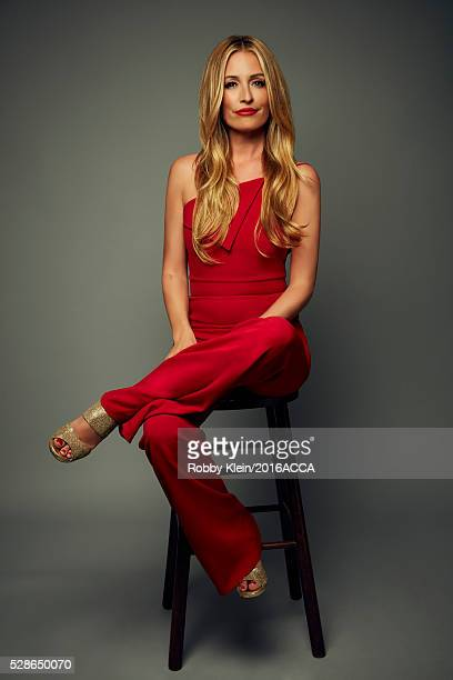 Cat Deeley poses for a portrait at the 2016 American Country Countdown Awards Peoplecom on May 1 2016 in Inglewood California