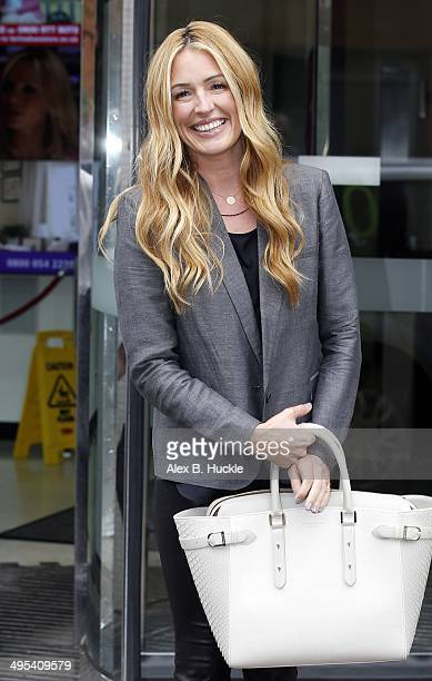 Cat Deeley seen leaving the ITV Studios after an appearance on 'Lorraine' on June 3 2014 in London England