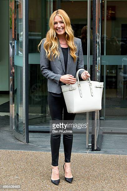 Cat Deeley sighted at ITV studios on June 3 2014 in London England