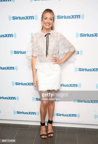 Cat Deeley visits at SiriusXM Studios on June 23 2017 in New York City