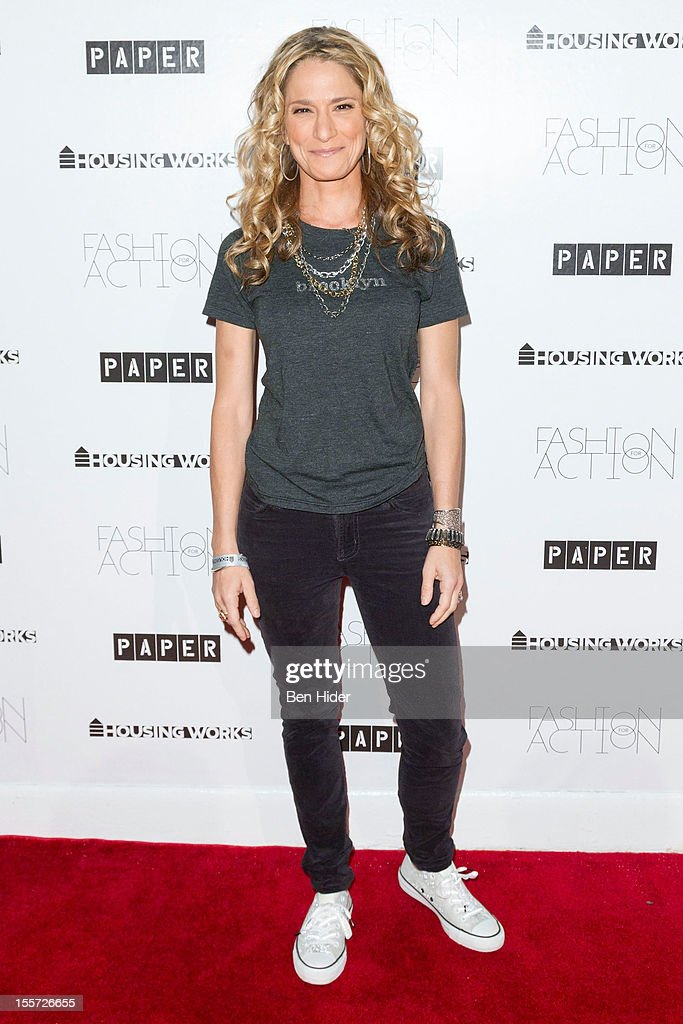 Cat Greenleaf attends Fashion for Action 2012 at the Altman Building on November 7, 2012 in New York City.