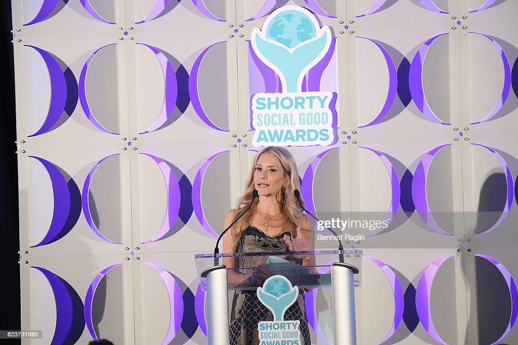 Cat Greenleaf speaks on stage during the 1st Annual Shorty Social Good Awards at Apella on November 16, 2016 in New York City.