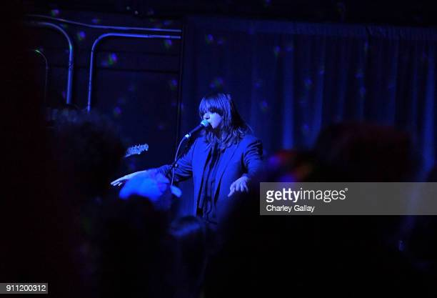 Cat Power perfords during ALAC Music Series @ Zebulon Presents Cat Power at Zebulon on January 25 2018 in Los Angeles California