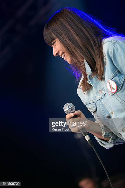 Cat Power performs at CastlePalooza festival at Charville Castle on July 3 2016 in Tullamore Ireland