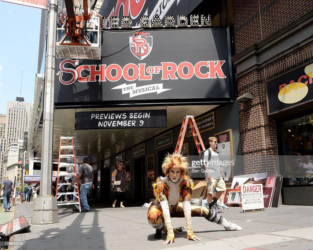 Fotos Und Bilder Von Cats Cat Reacts As School Of Rock Takes Over