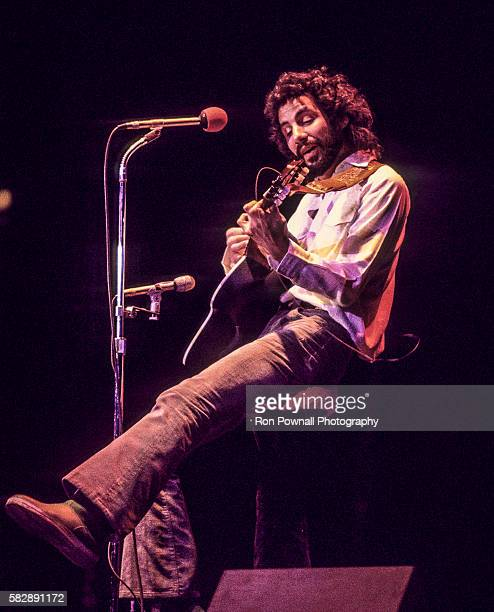 Cat Steven performs at Providence Civic Center, March 8, 1976