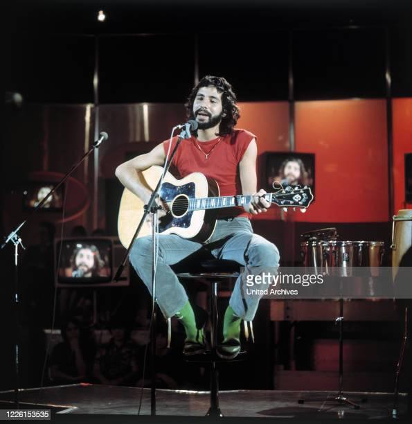 Cat Stevens, Auftritt in der ZDF Musik-Show disco, 1976.