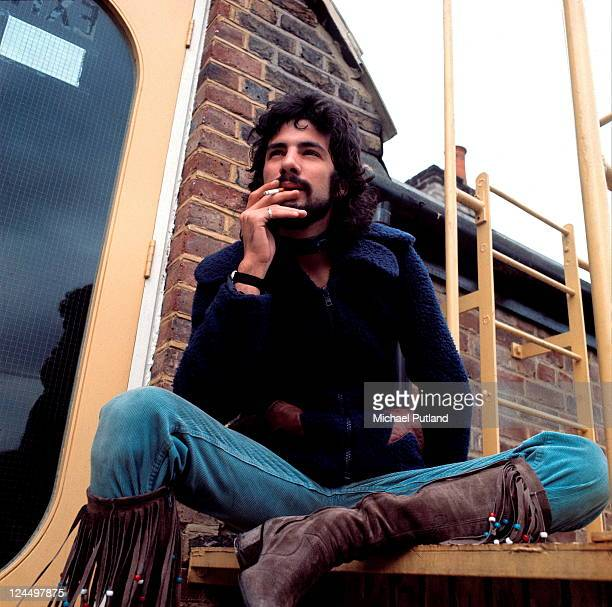 Cat Stevens portrait at Island Records' Basing Street studios London 29th October 1970
